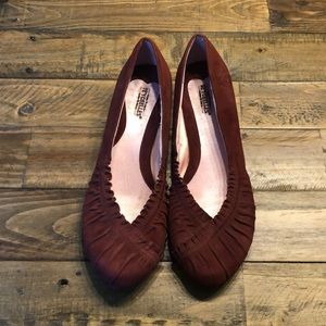Seychelles mauve shoes